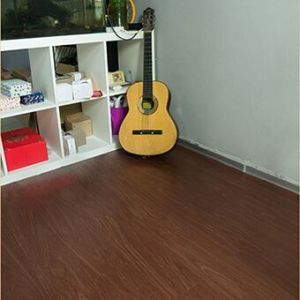 Hanflor PVC Flooring Plank semi-matt wood embossed 6''*36'' 2.0mm durable moisture resistance poisonless and tasteless