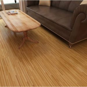 Hanflor vinyl flooring plank matt hand-scraped 3.0mm easy-clean 6''*36'' environment-friendly smooth
