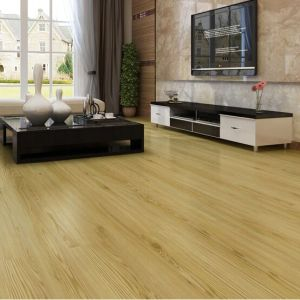 Hanflor PVC Flooring Plank semi-glossy wood embossed 6''*36'' 3.0mm easy install flexible anti-cigarette-burn