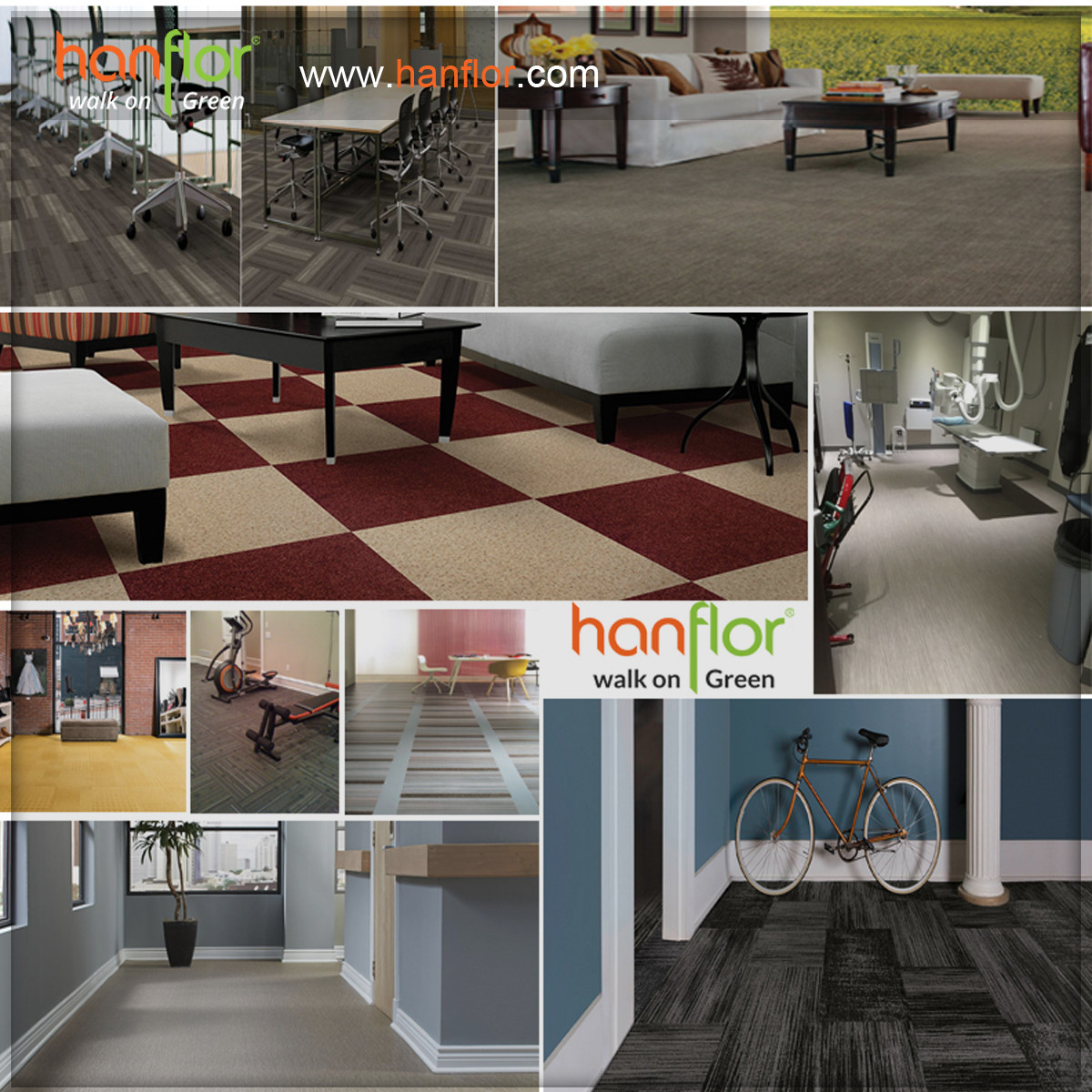 Applications: Hanhent hanflor with good quality pvc flooring, the pvc floor goods widely use for home, office, apartment, hotel, living room, bedroom,gym, school, hospital and many places. plastic floor,pvc floor, Vinyl floor, plastic flooring, pvc flooring, Vinyl flooring, pvc plank, vinyl plank, pvc tile, vinyl tile, click vinyl flooring, interlocking vinyl flooring, unilin click flooring, unilin click vinyl flooring, click pvc flooring, interlocking pvc flooring, unilin click vinyl flooring, unilin click pvc flooring