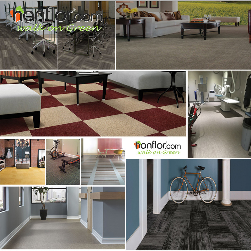 8.Applications: Hanhent hanflor with good quality pvc flooring, the pvc floor goods widely use for home, office, apartment, hotel, living room, bedroom,gym, school, hospital and many places. plastic floor,pvc floor, Vinyl floor, Plastic flooring, pvc flooring, Vinyl flooring, pvc plank, vinyl plank, pvc tile, vinyl tile, click vinyl flooring, interlocking vinyl flooring, unilin click flooring, unilin click vinyl flooring, click pvc flooring, interlocking pvc flooring, unilin click vinyl flooring , unilin click pvc flooring