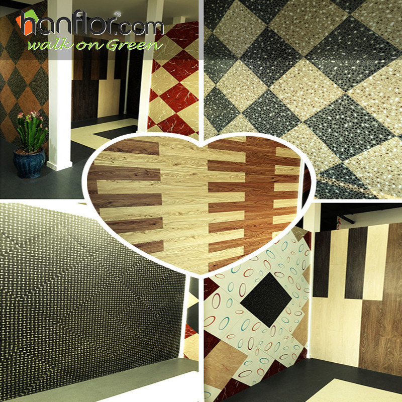Showroom:Hanhent hanflor showroom with goods looking and specificial design of the pvc floor, you will have amazing feeling to check our showroom and will find the goods you need here. Wood embossed pvc floor, marble pvc tile, stone vinyl tile,carpet pvc tile ,mat color, glossy color and semi-mat, many different models can match your different needs. plastic floor,pvc floor, Vinyl floor, plastic flooring, pvc flooring, Vinyl flooring, pvc plank, vinyl plank, pvc tile, vinyl tile, Click vinyl flooring, interlocking vinyl flooring, unilin click flooring, unilin click vinyl flooring, click pvc flooring, interlocking pvc flooring, unilin click vinyl flooring, unilin click pvc flooring