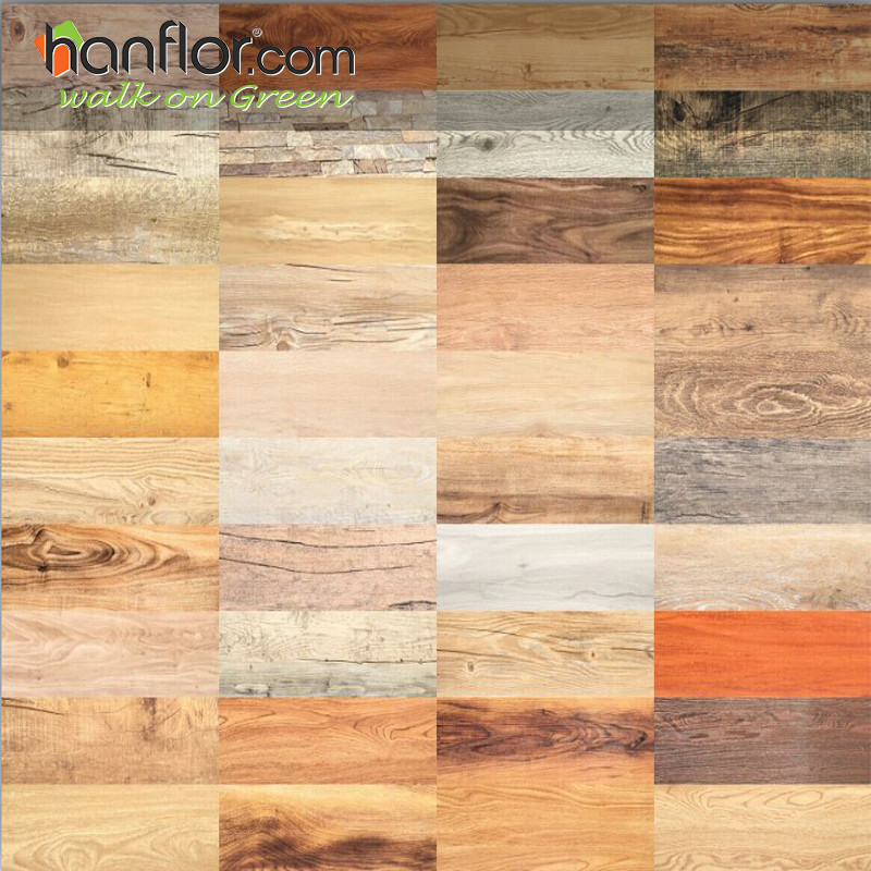 Hanflor Pvc Floor 3mm Wood Embossed 6 48 Flexible
