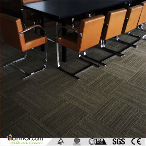 Hanflor pvc carpet tile matt embossed 18''*18'' 2.0mm durable moisture resistance anti-scratch