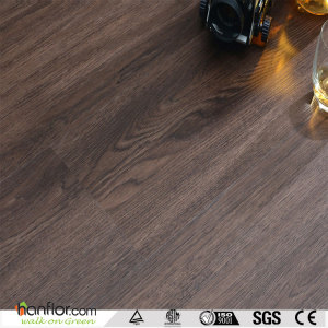 Hanflor pvc flooring semi-matt wood embossed 6''*36'' 2.5mm multi-colors easy-clean durable