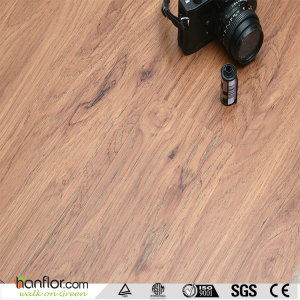 Hanflor pvc vinyl floor wood-embossed 2.0mm 6''*36'' easy install flexible cheap price