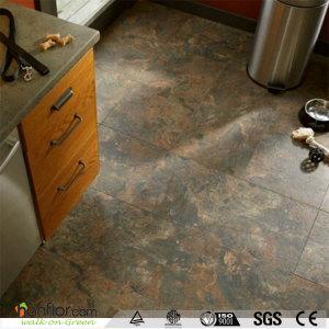 Hanflor vinyl floor semi-matt slate 2.0mm 18''*18'' durable sound absorption multi-thickness