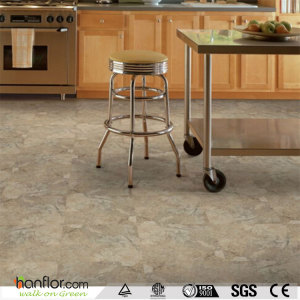 Hanflor luxury vinyl tile marble matt 3.0mm durable 18''*18'' high stability anti-cigarette-burn