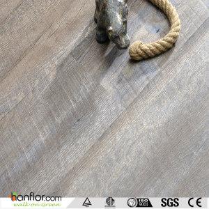 Hanflor pvc flooring semi-matt wood embossed anti-slip 6''*36''easy-clean 5.0mm  multi-thickness