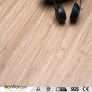 Hanflor click lvt flooring semi-matt hand-scraped 4.2mm smooth 7''*48'' poisonless and tasteless