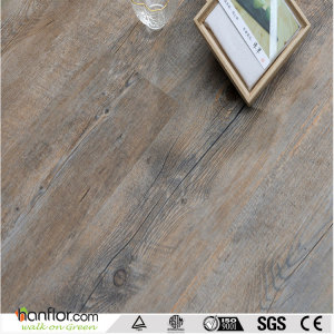 Hanflor vinyl plank semi-matt multi-size wood embossed 5.0mm durable 6''*36'' fire resistance