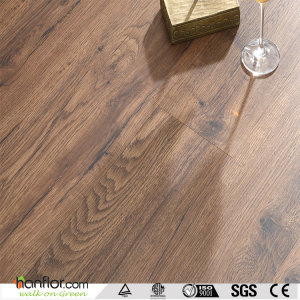 Hanflor LVT plank semi-matt multi-size wood embossed 5.0mm  9''*48'' HIF 1733