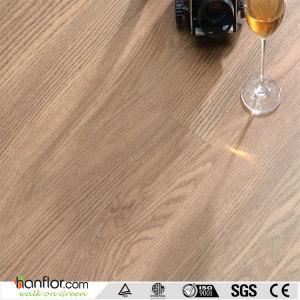 Hanflor pvc flooring semi-matt hand scraped anti-slip 4.0mm high stability 7''*48'' durable