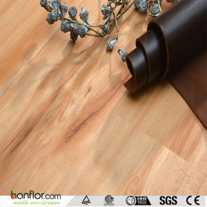 Hanflor pvc flooring semi-matt durable wood embossed 2.0mm sound absorption 6''*36'' HIF1738