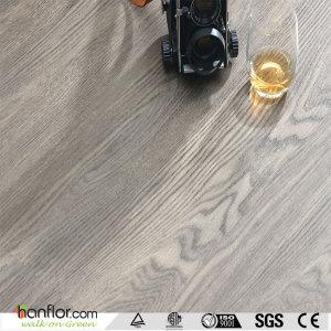 Hanflor plastic flooring 4.2mm multi-size semi-matt anti-scratch hand-scraped 9''*48'' HIF1716