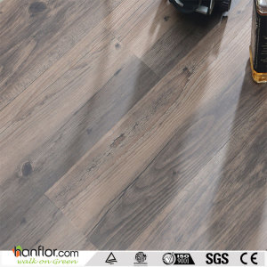 Hanflor LVT Unilin Click  Semi-matte Wood Embossed 7''*48'' 4.0mm HIF1714