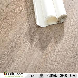 Hanflor pvc floor fire resistance 2.0mm recyclable 6''*36'' semi-matt wood embossed durable