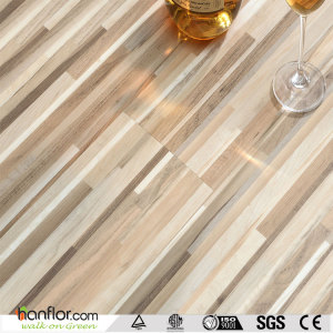 Hanflor PVC plank semi-matt recyclable  wood embossed 9''*48'' durable 3.0mm shock-resistance