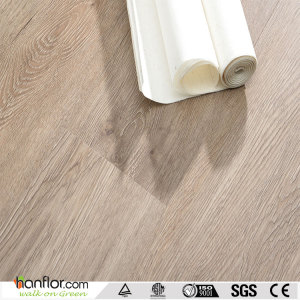 Hanflor plastic floor semi-matt anti-scratch hand-scraped 4.0mm easy install 6''*36'' flexible