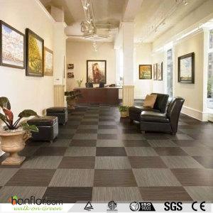 Hanflor vinyl tile embossed matt long lifespan 18''*18'' easy install 3.0mm durable