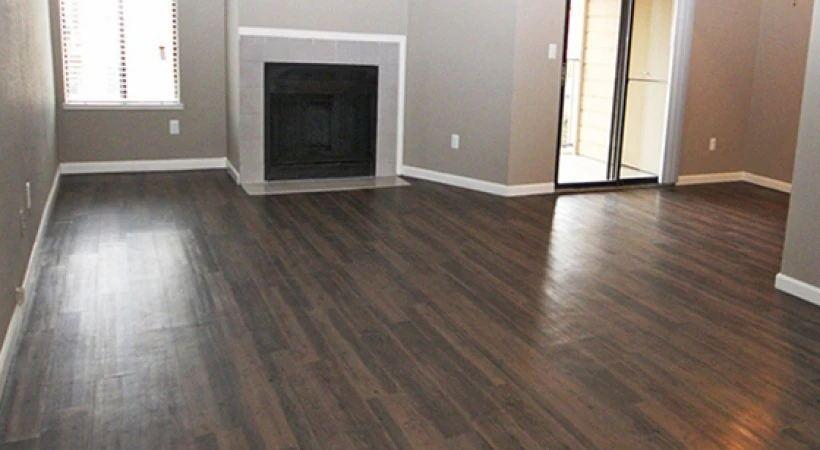 vinyl flooring project