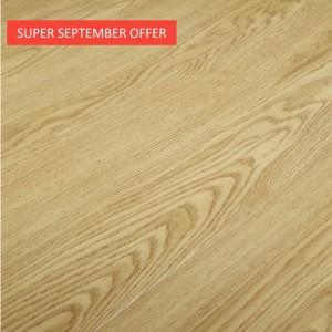 "[Super september promotion]7""X48""OAK 5 MM  CLICK  LOCK  VINYL  PLANK"