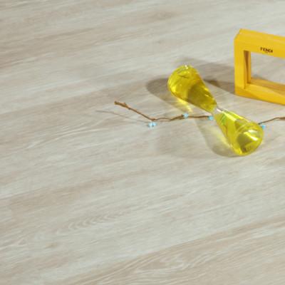 "Hanflor 7""X48""4mm White Click Vinyl Plank Flooring HIF 19097"