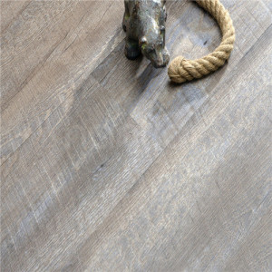Hanflor 9''*48'' 5.0mm Loose Lay PVC Flooring Semi-Matt Easy-Clean Wood Embossed Flexible HIF 1719