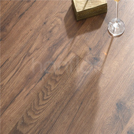 Hanflor  7''x48'' 4.2mm Brown Oak Sound Barrier Rigid Vinyl Plank Hot Sellers in Brazil HIF 1733