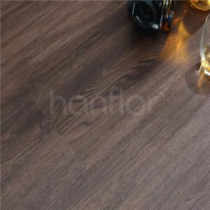 Hanflor 9''x48'' 4.0mm Waterproof Click Lock Wood Grain Floating Vinyl Plank HIF 1717