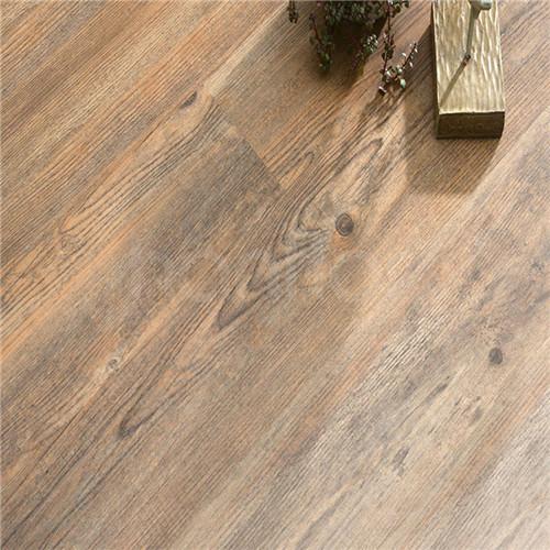 Hanflor 6.41''*47'' 6.5mm WPC Plank Eco Flooring Wood Plastic Composite Decking HIF1702