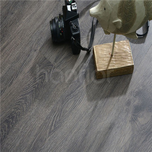 Hanflor 6''x48'' 4.2mm Waterproof Wood Vinyl Planks Flooring PVC Click Lock HIF 1711