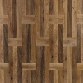 Hanflor 6''x48''  4.2mm Non Slip Wood Vinyl Planks Flooring PVC Click Lock HIF 9049