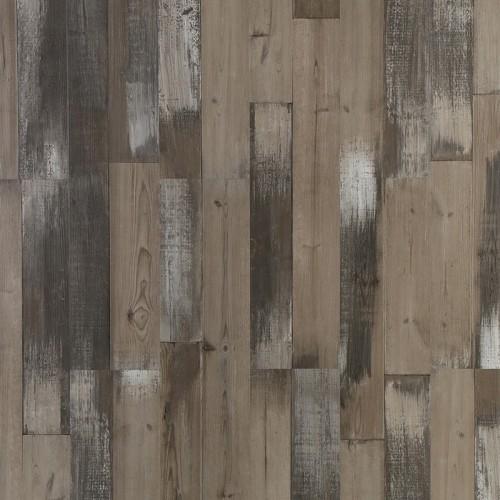 Hanflor 7''x48'' 5mm SPC Rigid Core Click Lock IEPX Underpad Vnyl Plank Flooring HIF 9051