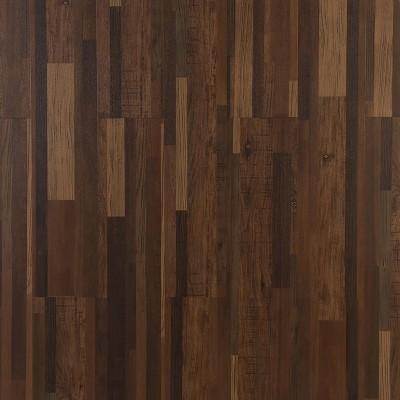 Hanflor 9''x48'' 5.0mm Noise Reduction Wood Design Plastic Composite Decking Flooring HIF 9054