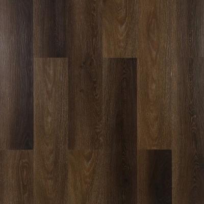 Hanflor 7''*48''  4.0mm Hand-Scraped Anti-slip LVT Click Locking Vinyl Plank Flooring HIF 9062