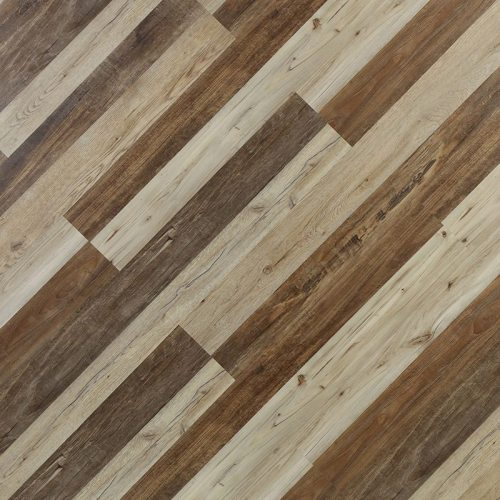 Hanflor  7''x48'' 6.0mm Sound Barrier Fire Insulation Rigid Core Vinyl Plank Flooring HIF 9096