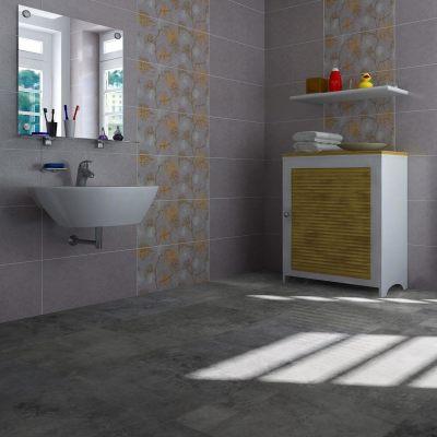 "Hanflor 12""X24""4.2mm Wholesale Stone Look Click Lock Vinyl Tile For Bathroom HTS 8006"