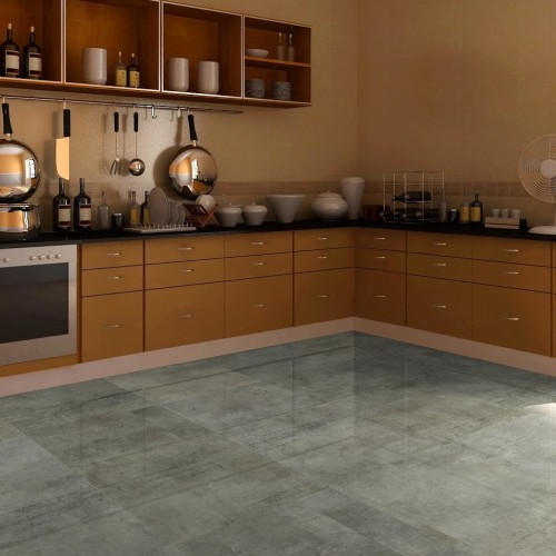 "Hanflor 12""X24""4.2mm Stone Design Click Lock Waterproof Wear Resistant Vinyl Flooring HTS 8004"