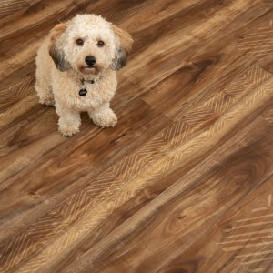 Hanflor  7''x48'' 6.5mm 100% Waterproof Koa Accent Rigid Core Vinyl Plank HVP 2004