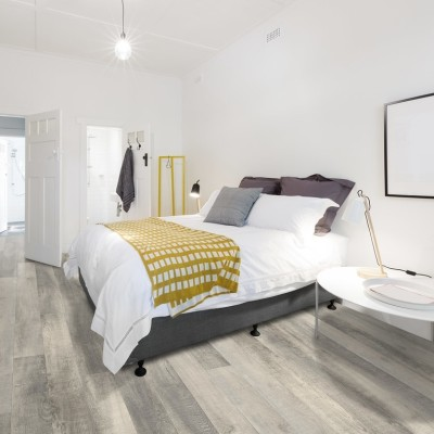 Hanflor 7''x48'' 7.0mm Windswell Hickory Residencial Use Noise Reduction WPC Flooring HVP 2018