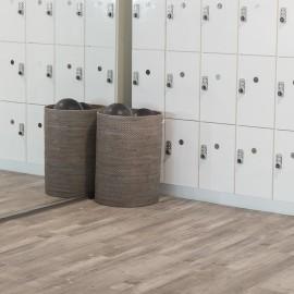 Hanflor  9''x48'' 4.0mm Gray Ash Rigid  Core Vinyl Plank SPC Flooring HVP 2025