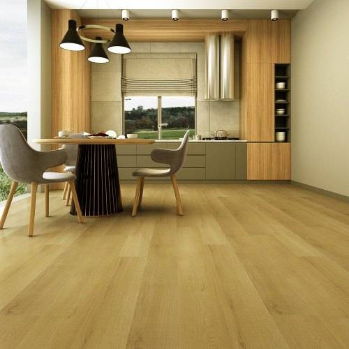 "Hanflor 7""X48""5mm Oak Locking Kid Friendly Easy Install LVT Vinyl Plank Flooring HVP 111-22"