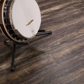 Hanflor 7''x48'' 4.2mm Shadowed Oak PVC Engineered Wooden Luxury Vinyl Plank Floor HVP 2038