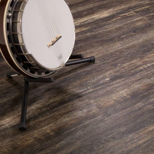 Hanflor 7''x48'' 4.2mm Shadowed Oak PVC Engineered Wooden Floating Vinyl Floor HVP 2038