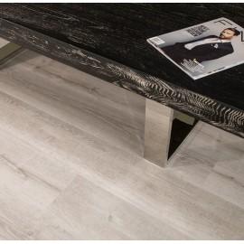 Hanflor 7''x48'' 4.2mm White Aspen PVC Engineered Wooden Floating Vinyl Floor HVP 2039