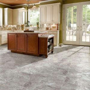 "Hanflor 12""X24""4.2mm Stone Design Click Lock Waterproof Wear Resistant Vinyl Flooring PTS 1003"