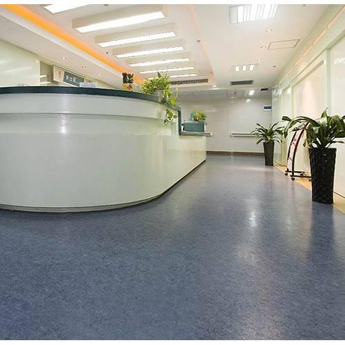 Hanflor 20mX2m Anti Bacterial Anti-Slip PVC Durable Flexible Vinyl Sheet Hospital Roll Floor