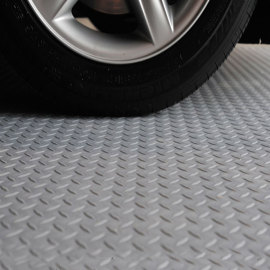 Hanflor Heavy Duty Interlocking PVC Durable Fire Resistance Shock-Resistance Garage Floor Tiles