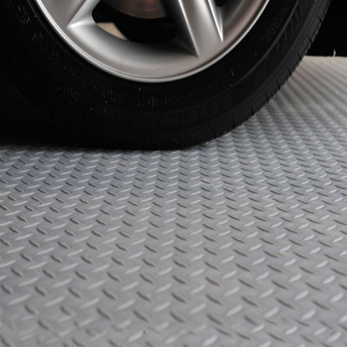 Hanflor Heavy Duty Interlocking PVC Durable Fire Resistance Shock-Resistance Garage Floor Tiles